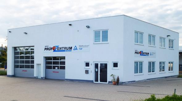 Prüfzentrum für TÜV Neckarsulm und TÜV Heilbronn